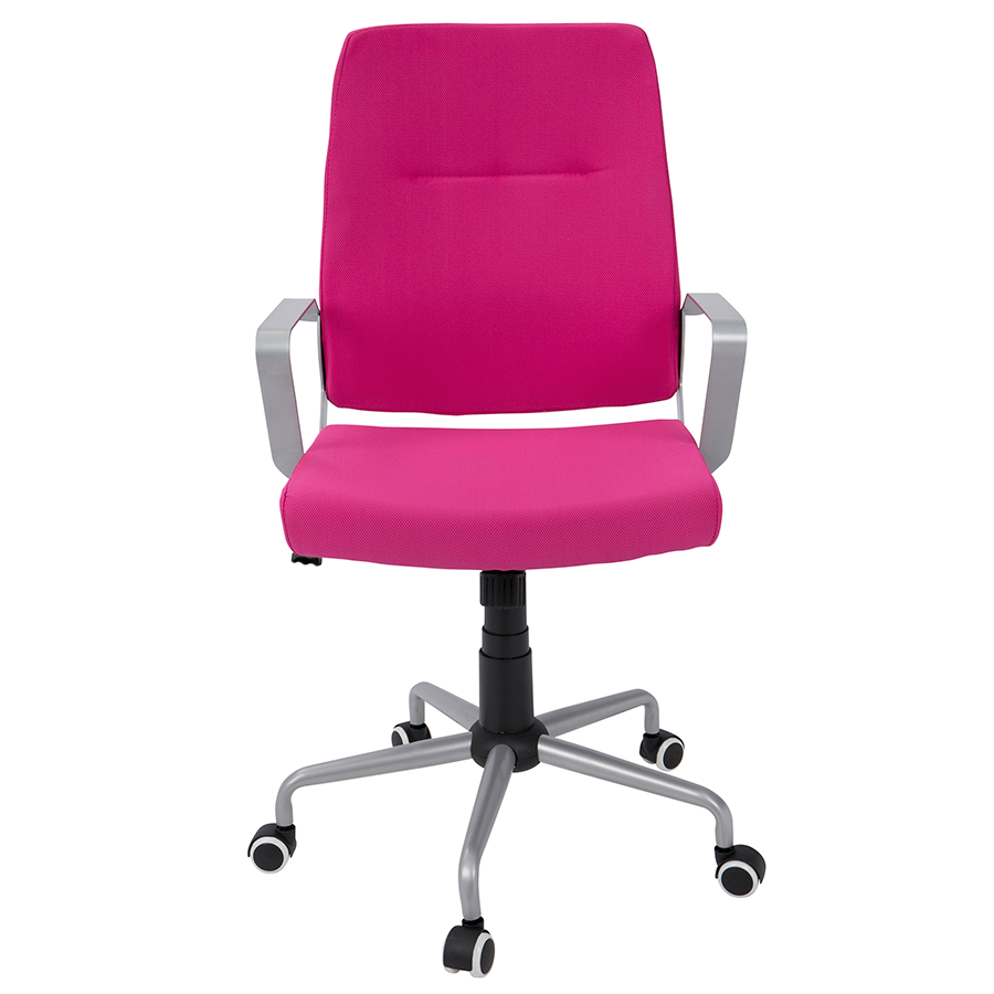 Zeno Pink Contemporary Office Chair
