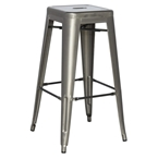 alfredo industrial contemporary counter stool