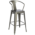 alonso modern industrial bar stool