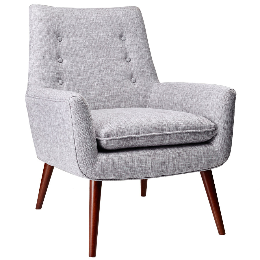 Modern Chairs Anderson Light Grey Chair Eurway
