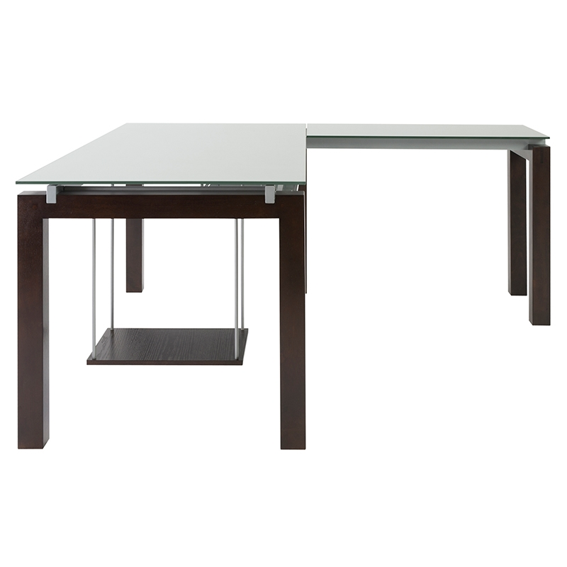 Banzai Modern L-Desk - Side View