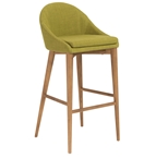 Barrett Modern Green Bar Stool