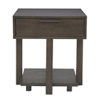 burro contemporary end table