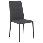 Chester Modern Charcoal Dining Chair