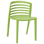 Contour Green Modern Dining Chair