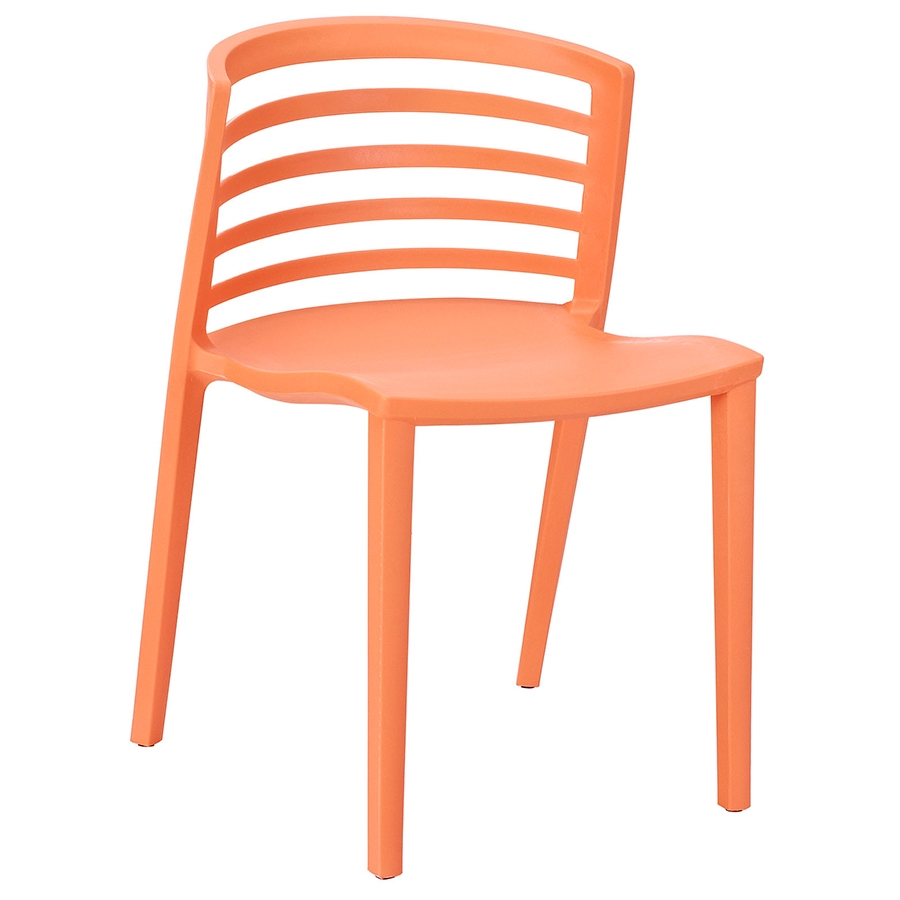 Contour Orange Modern Dining Chair