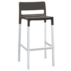 Danbury Modern Outdoor Bar Stool