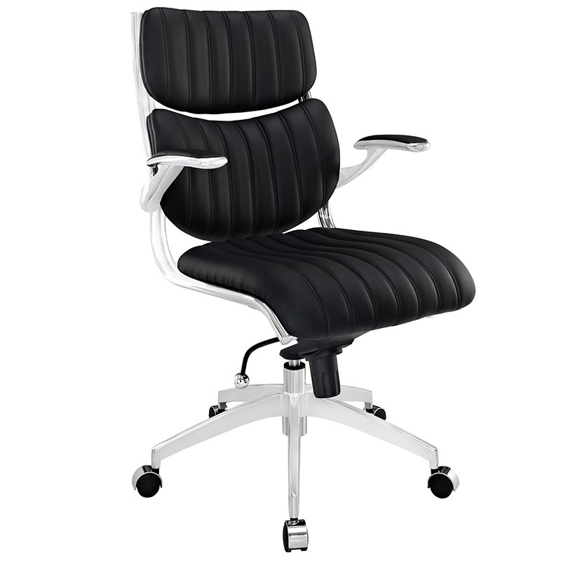 Echo Modern Office Chair in Black