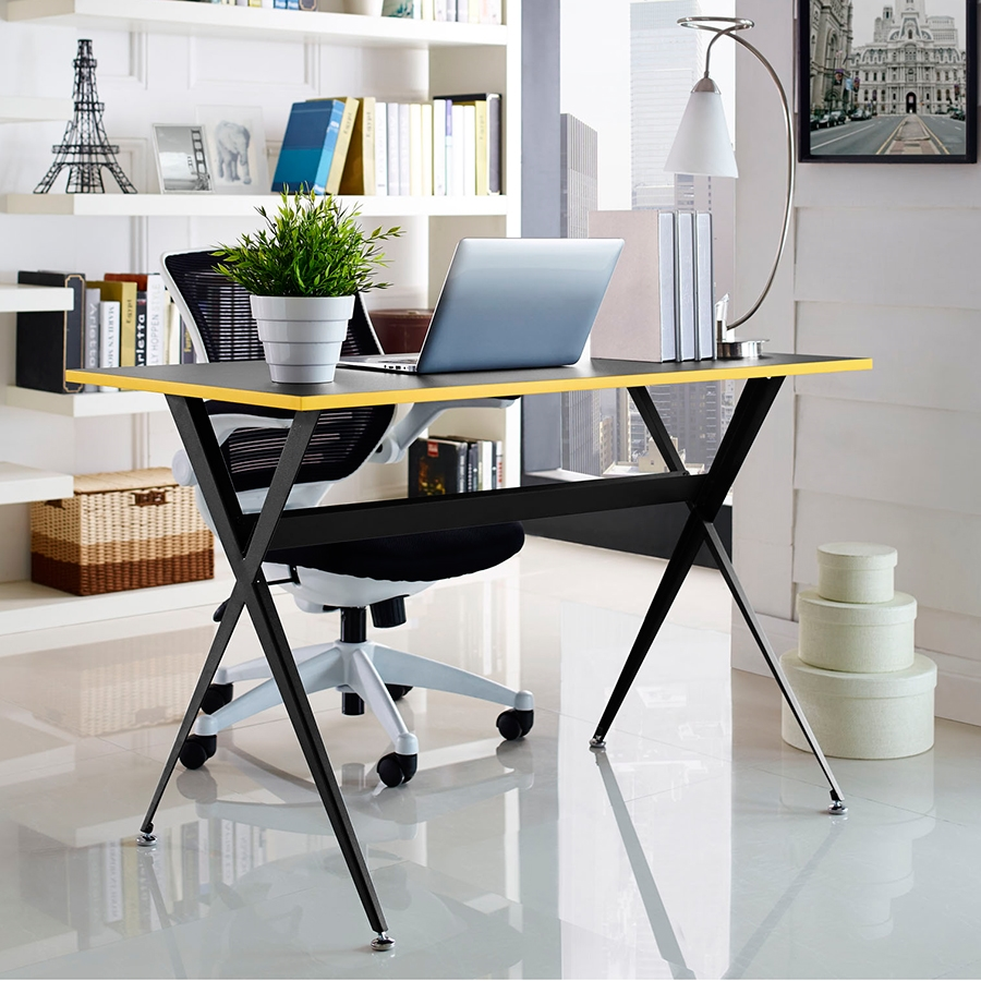 Ellington Contemporary Black Desk
