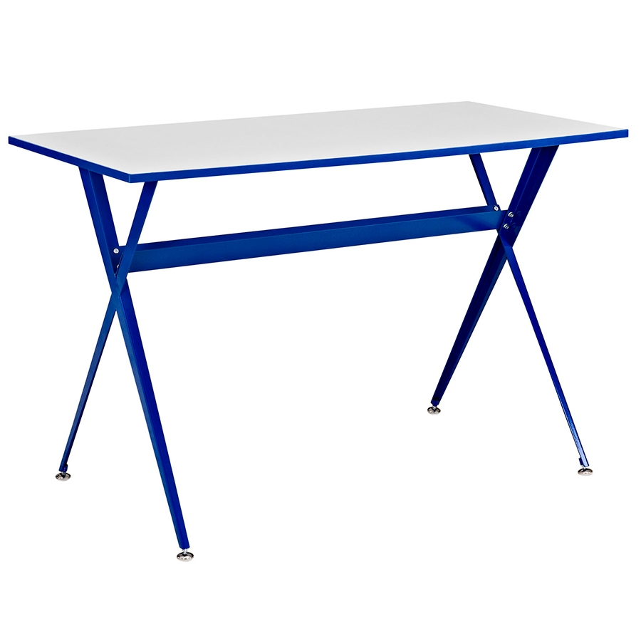 Ellington Modern Blue Desk