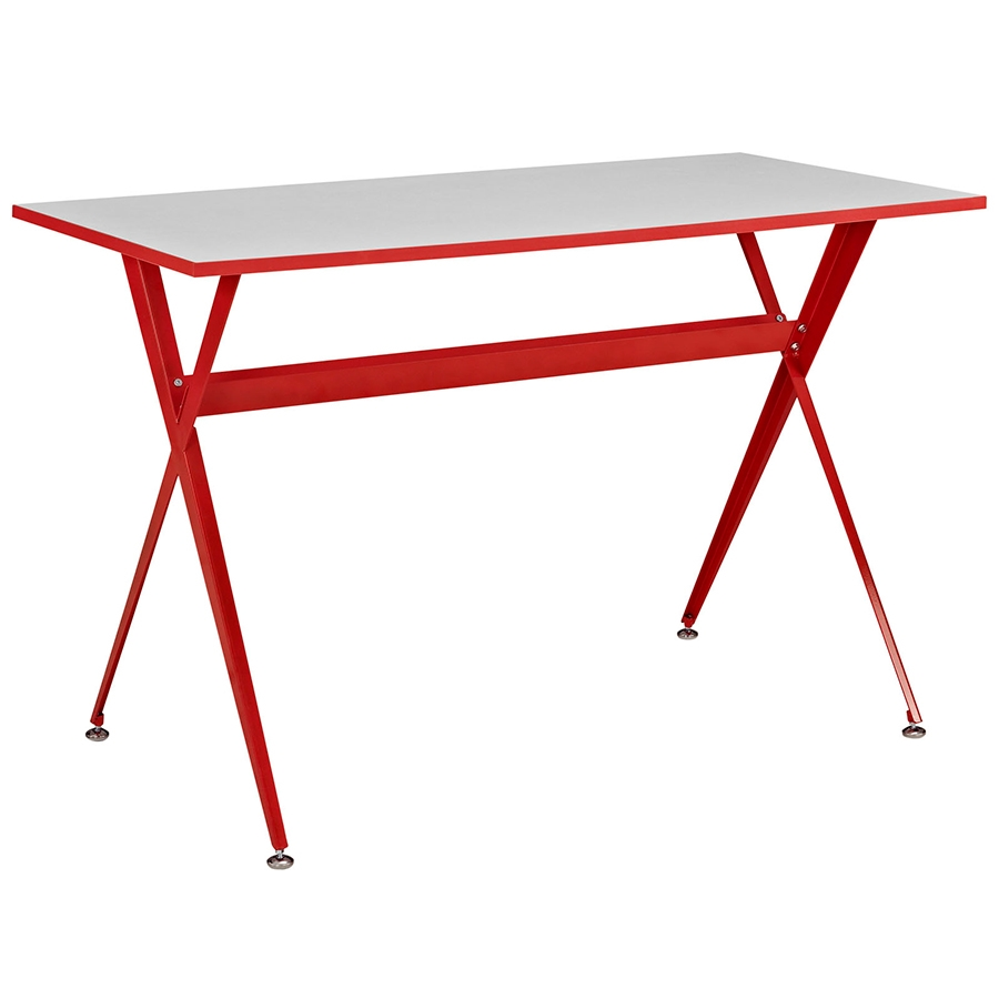 Ellington Modern Red Desk