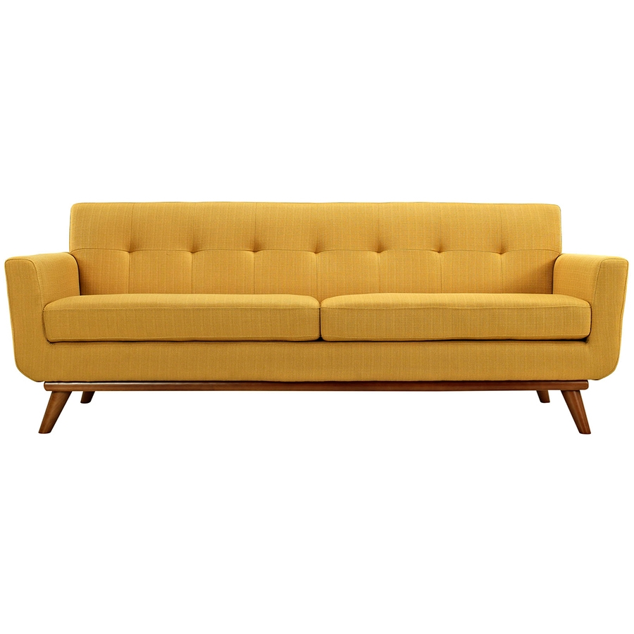 Empire Citrus Modern Sofa - Front View