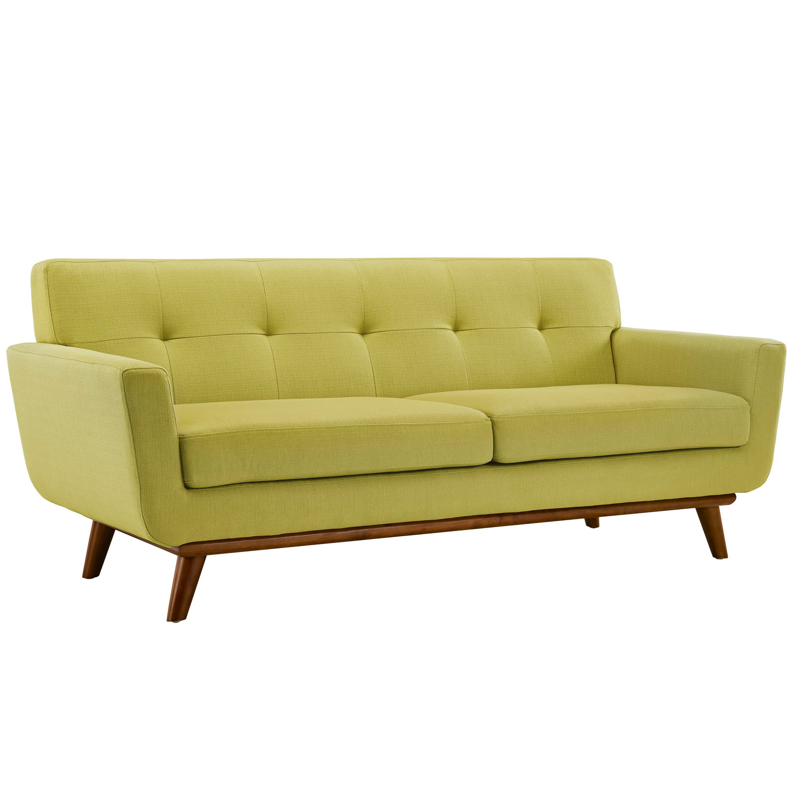 Empire Wheatgrass Modern Loveseat