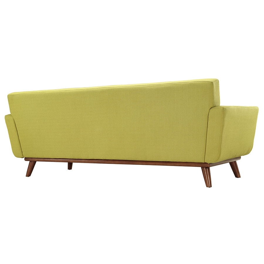 Empire Wheatgrass Modern Sofa - Back View