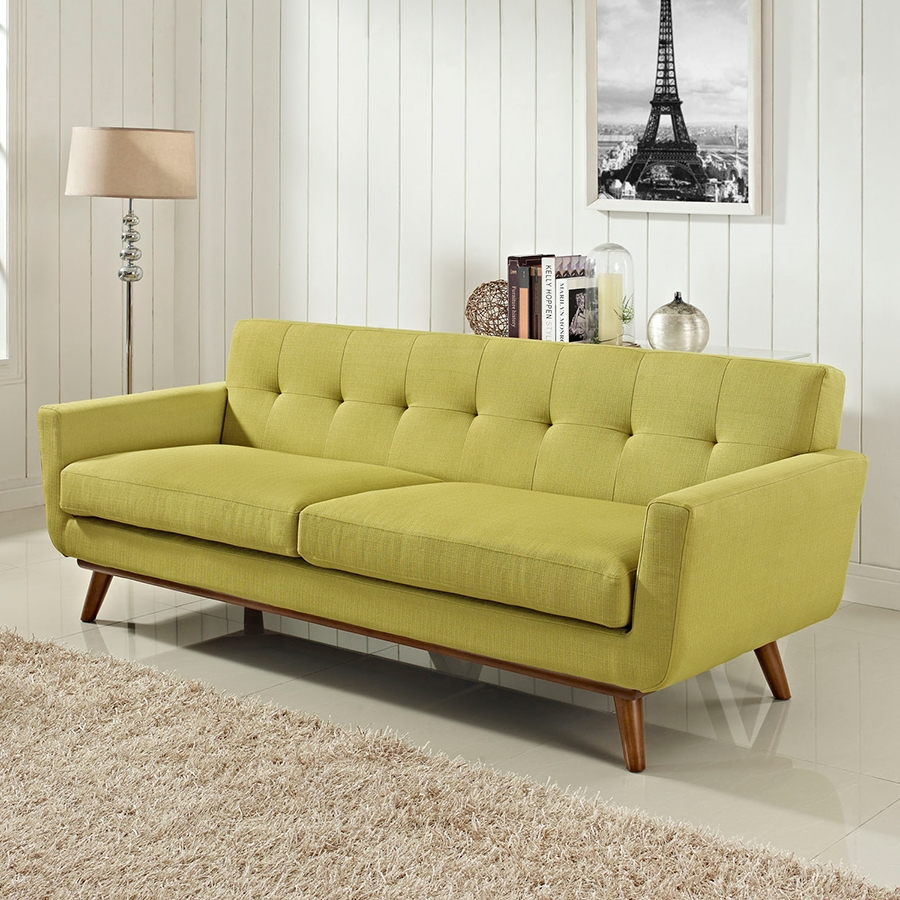 Empire Wheatgrass Contemporary Sofa
