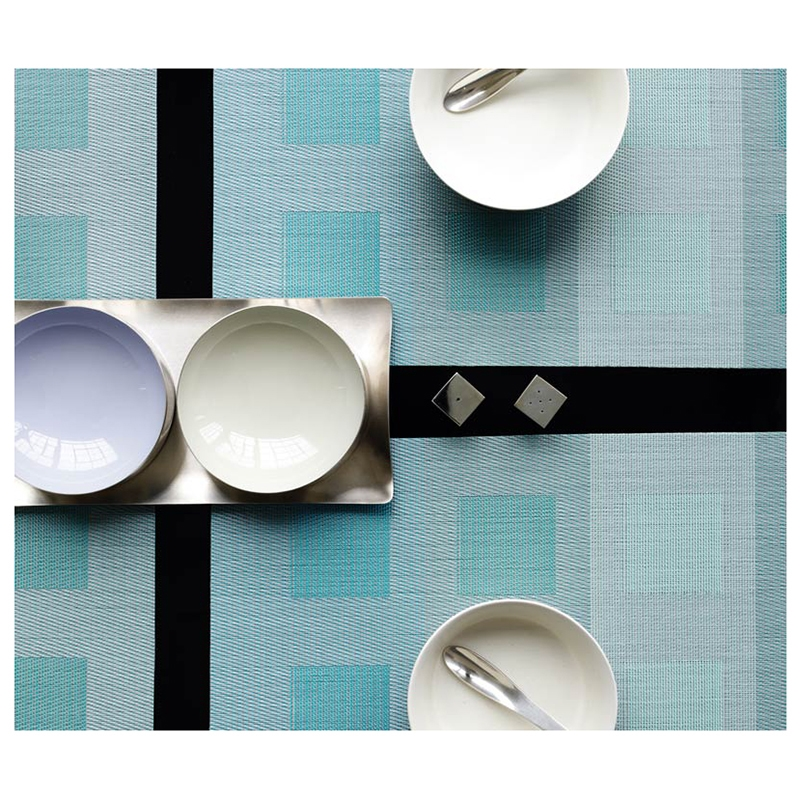 engineered squares modern placemats