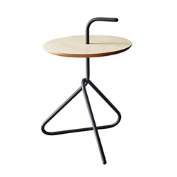 Everest Black Accent Table
