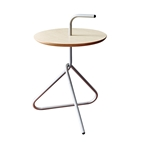 Everest Silver Accent Table