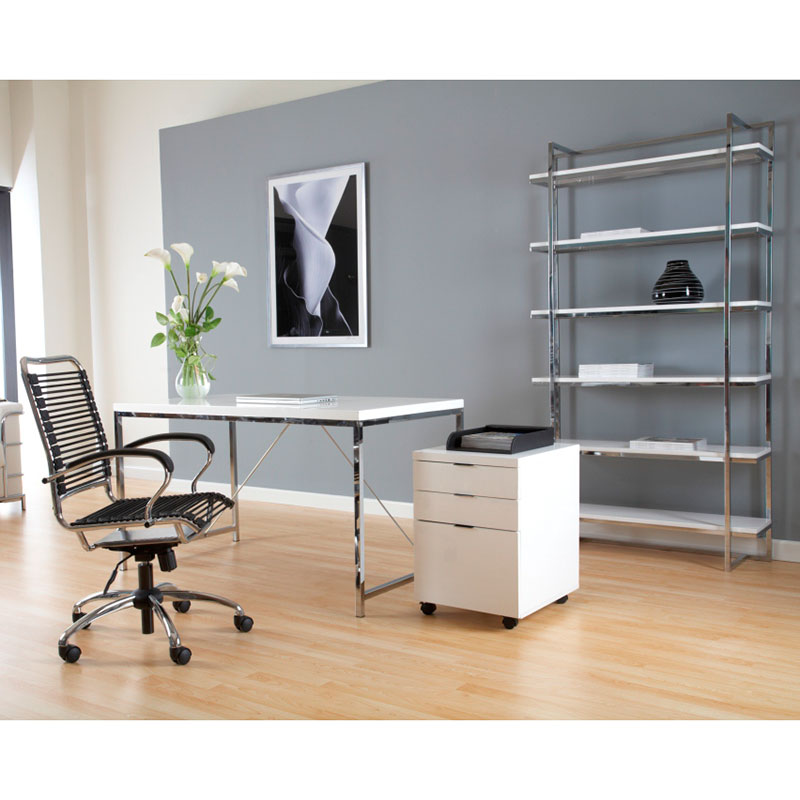 Gimli Modern Desk, File and Bookcase