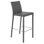 heather gray modern bar stool