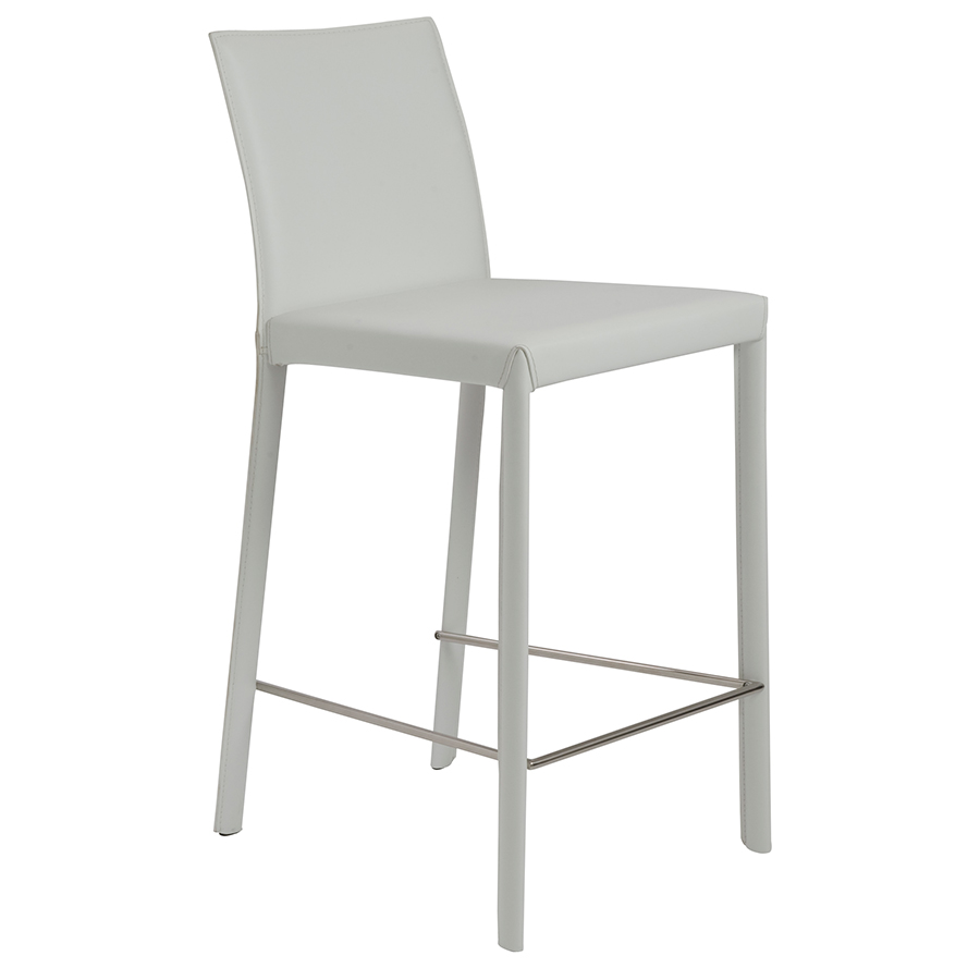 Tufted Leather  Inch Bar Stools Backless Counter Like It
