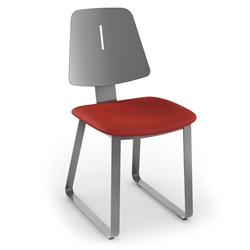 Irvine Modern Dining Chair - Magnetite-Flame