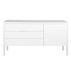jeromy sideboard in white