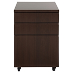 jerry modern wenge mobile file cabinet