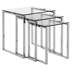 kat modern nesting table set