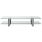 kat modern glass tv stand