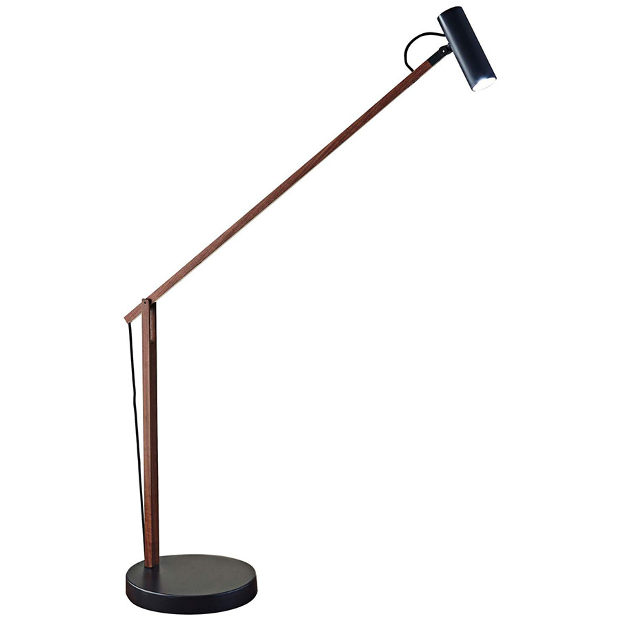Kraan Modern Walnut LED Desk Lamp