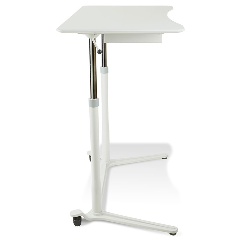 Legacy Lift Desk  - Side View / Up