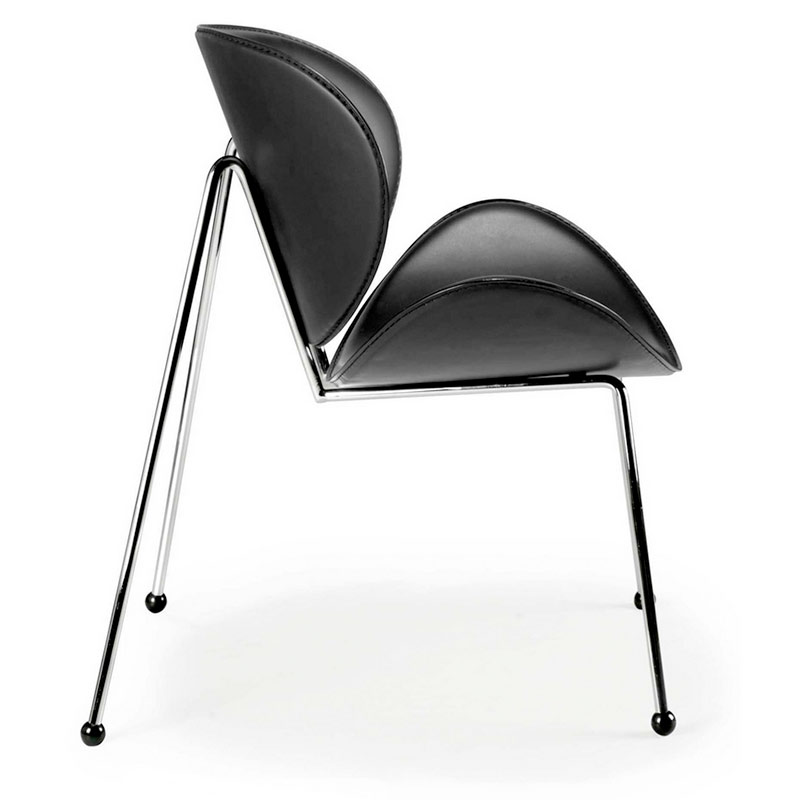 Match Chair Black- Side