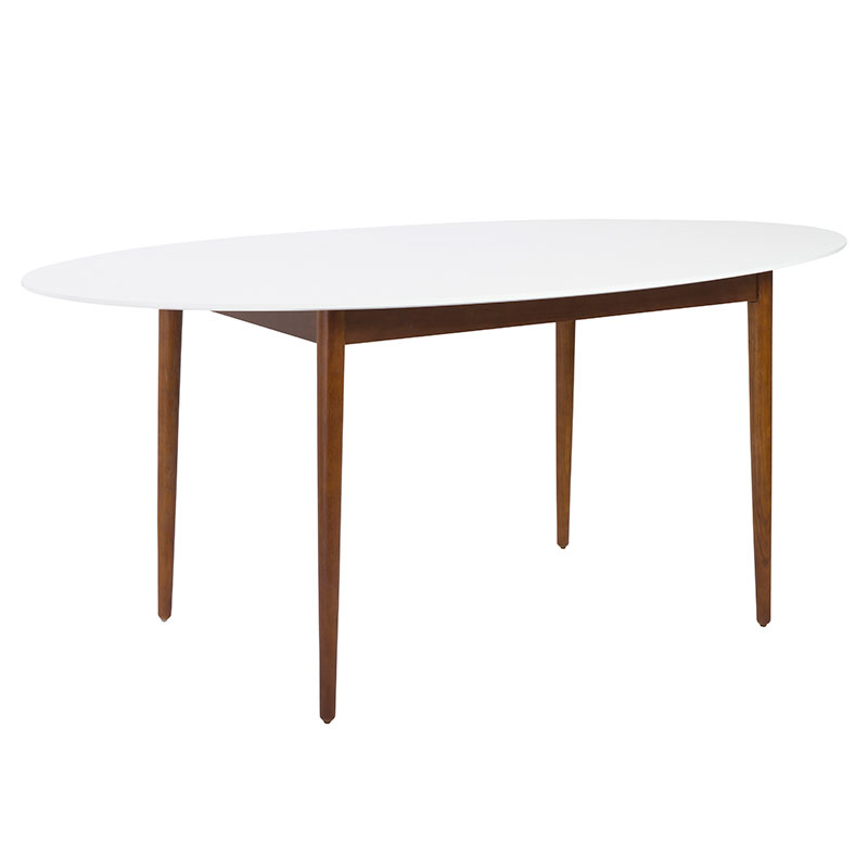 mesa modern oval dining table