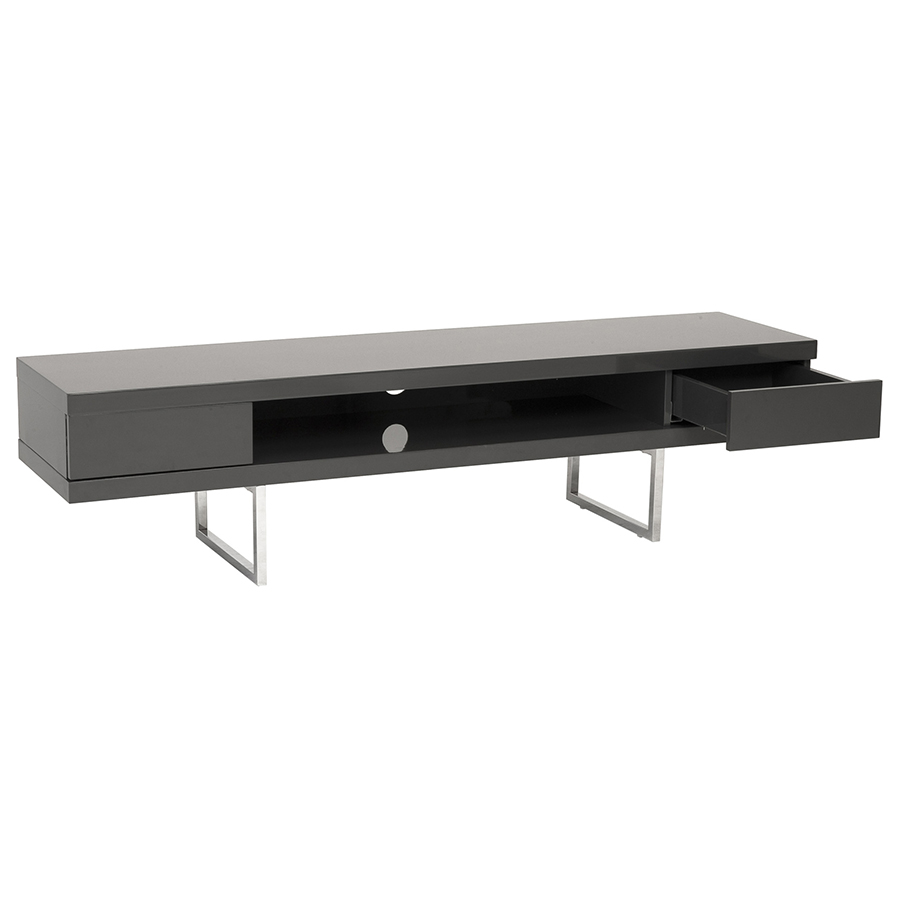 Modern TV Stands - Milan Gray Media Stand