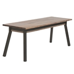 monterey contemporary dining bench