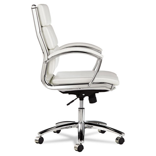 Napoli Mid Back Modern Office Chair - Side View