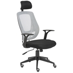 Oleary Modern Gray Office Chair