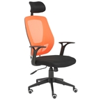 Oleary Modern Orange Office Chair