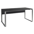 Perfecta Executive Desk in Anthracite