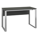 Perfecta Narrow Desk in Anthracite