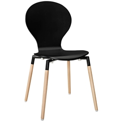 Portugal Black Modern Dining Chair