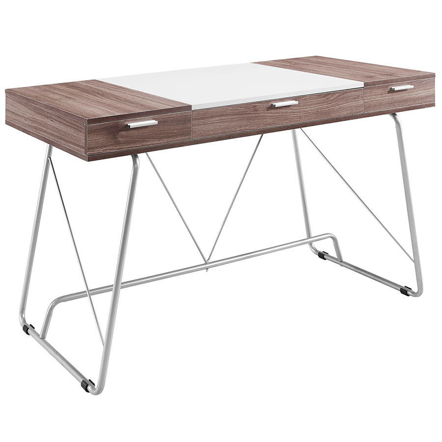Powell Modern Birch Desk