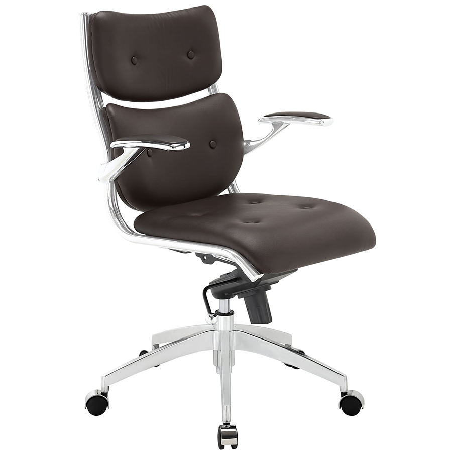 Princeton Modern Brown Office Chair