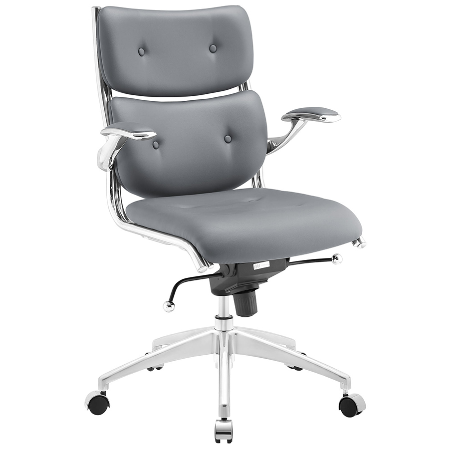 Princeton Modern Gray Office Chair