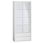 Quad Modern Display Cabinet