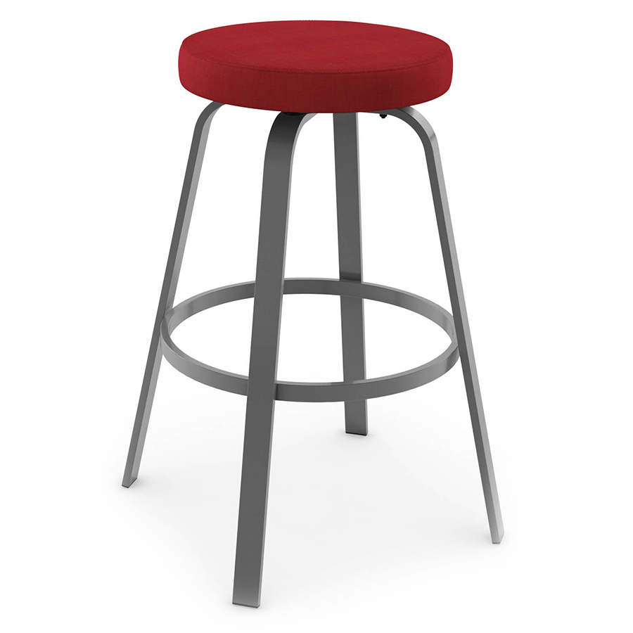 Racine Modern Bar Stool - Metallo/Flame