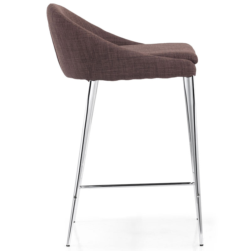 Reyes Contemporary Counter Stool in Tobacco