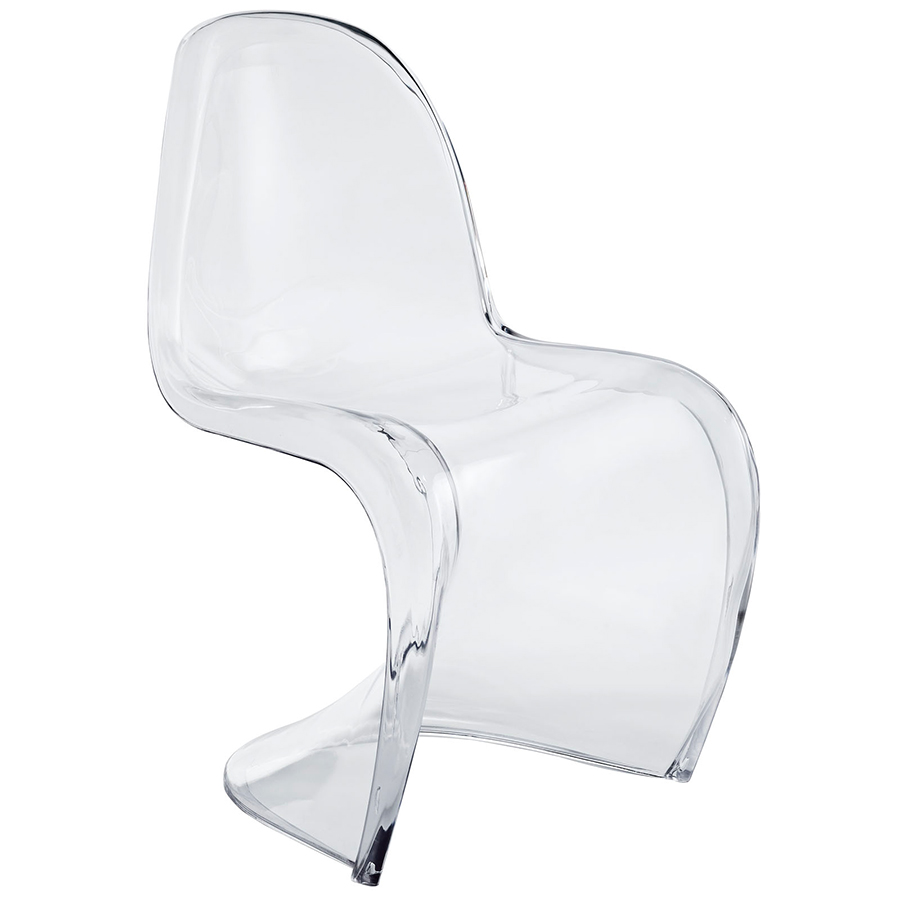 S Acrylic Dining Chair