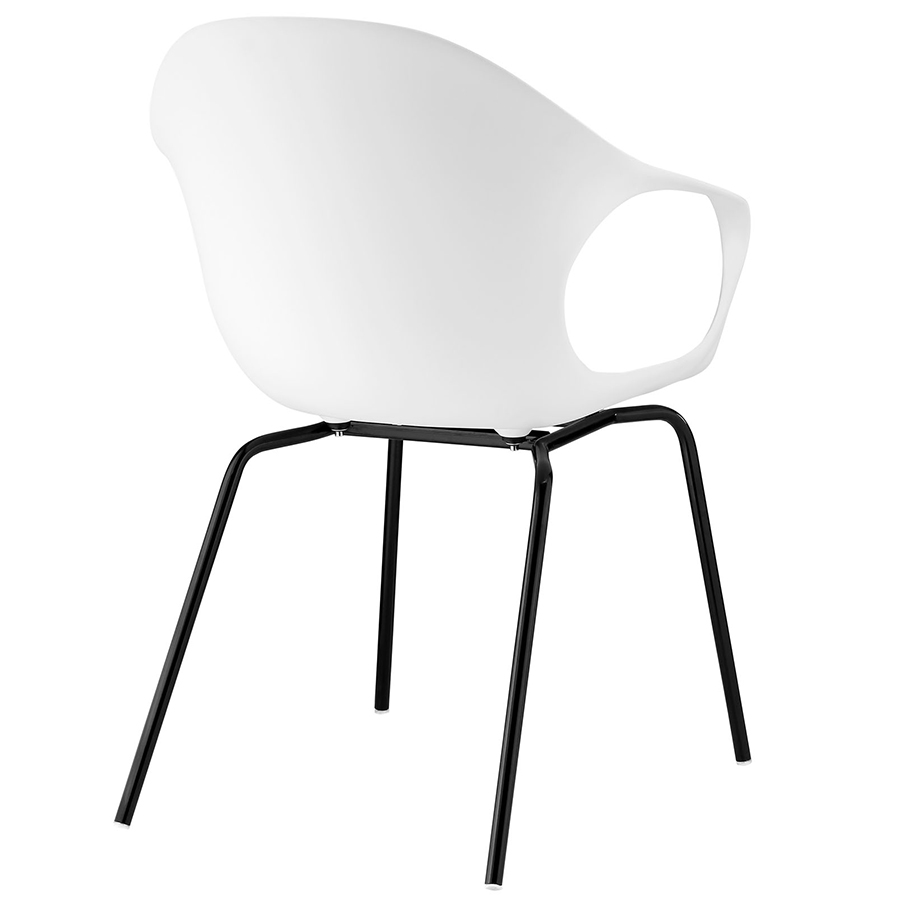 Sacramento Modern Dining Chair - Back View